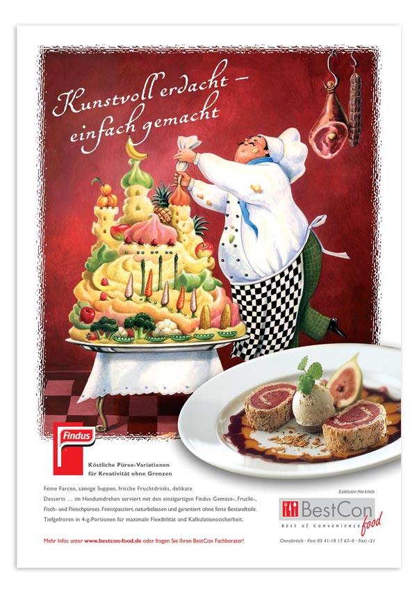 BestCon Food Anzeige