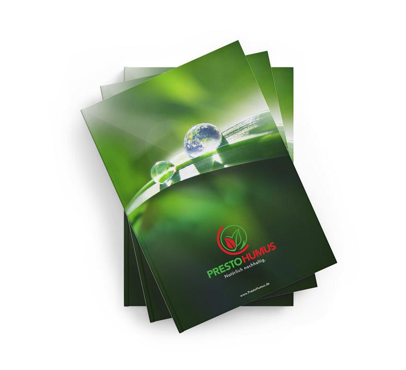 PrestoHumus Broschüre